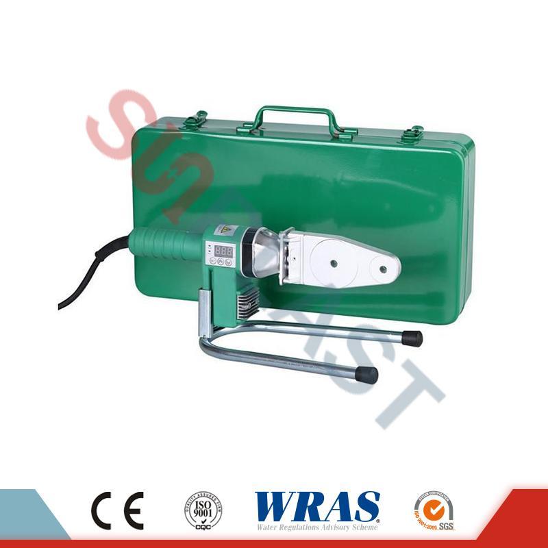 Machine de soudure par fusion de douille de 20-63mm pour le tuyau et l'amp; Tuyau HDPE