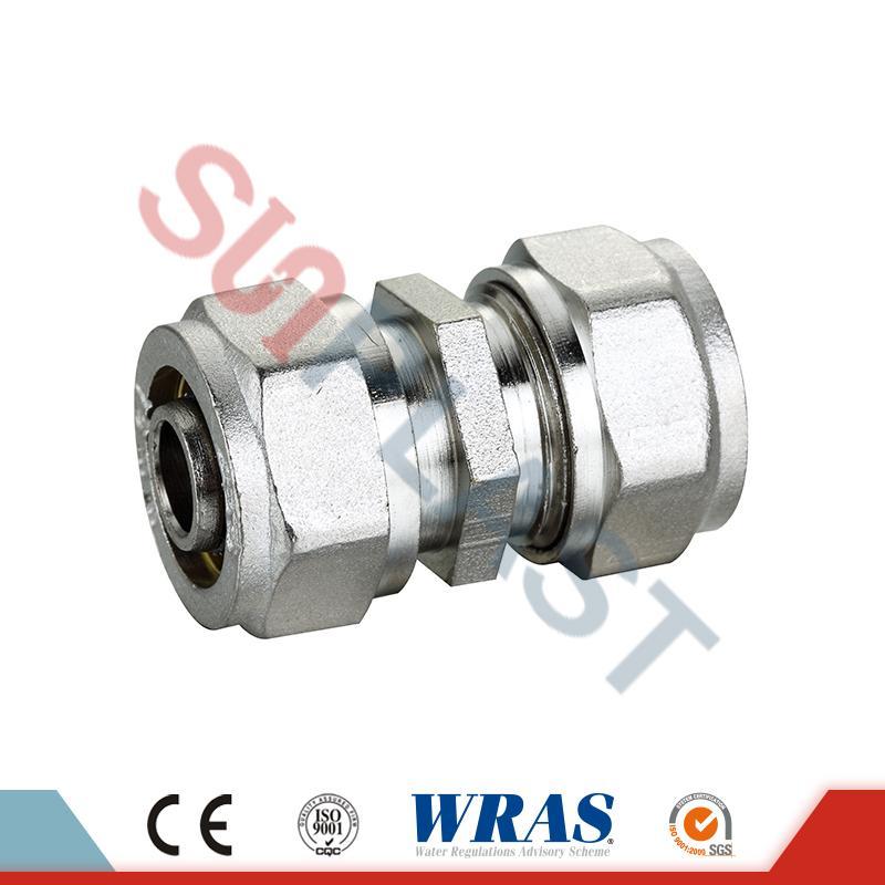 Raccord de compression en laiton pour tuyau multicouche PEX-AL-PEX